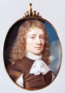 Miniature portrait of an Unknown Man by Samuel Cooper