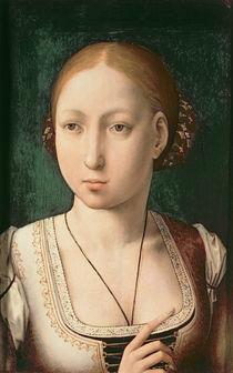 Juana or Joanna of Castile von Juan de Flandes