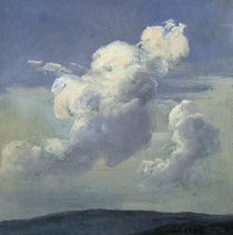 Cloud Study by Johan Christian Dahl