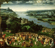 The Feeding of the Five Thousand  by Joachim Patenier or Patinir