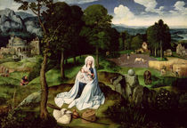 Rest on the Flight into Egypt  von Joachim Patenier or Patinir