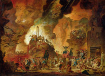 The Triumph of the Guillotine in Hell  von Nicolas Antoine Taunay