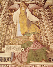 Ezekiel and the Angel holding the chalice of the Passion von Melozzo da Forli