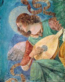 Angel Musician  by Melozzo da Forli