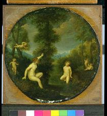 The Nymph Salmacis and the Hermaphrodite  by Francesco Albani