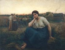 Evening by Jules Breton