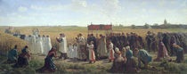 The Blessing of the Wheat in the Artois von Jules Breton
