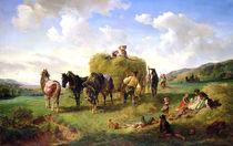 The Hay Harvest von Hermann Kauffmann