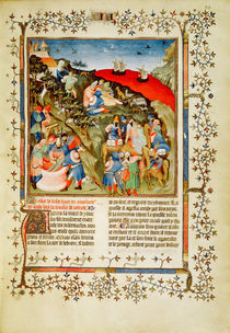 Ms Fr.247 f.25 The Story of Joseph von Fouquet, Jean (c.1420-80) and Studio