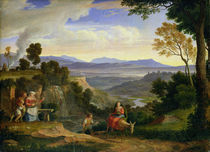 At Ronciglione by Joseph Anton Koch