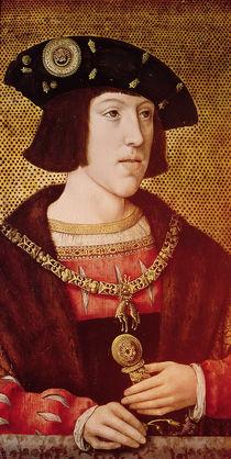 Portrait of Charles V  von Bernard van Orley