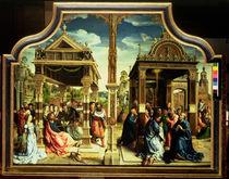 St. Thomas and St. Matthew Altarpiece von Bernard van Orley