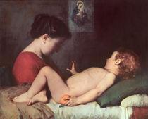 The Awakening Child  von Jean-Jacques Henner