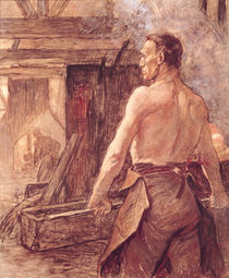 Foundry Worker by Constantin Emile Meunier