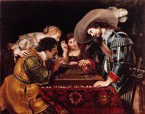 The Game of Backgammon  by Cornelis de Vos
