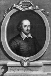 Portrait of William Shakespeare  by George Vertue