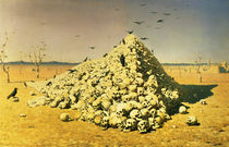 An Allegory of the 1871 War by Vasili Vasilievich Vereshchagin