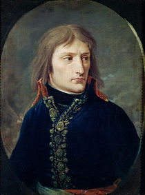 Napoleon Bonaparte  von Baron Louis Albert Bacler d'Albe