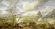 The Battle of Rivoli on the 14th January 1797  by Baron Louis Albert Bacler d'Albe