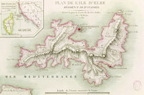 Map of the Island of Elba by Baron Louis Albert Bacler d'Albe