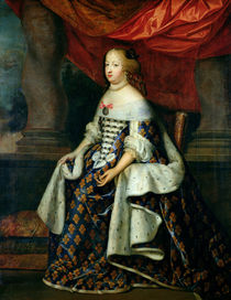 Portrait of Marie-Therese  by Charles Beaubrun