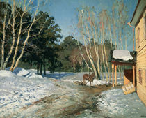 March von Isaak Ilyich Levitan