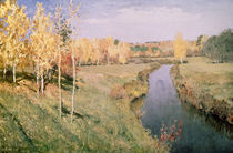 Golden Autumn by Isaak Ilyich Levitan