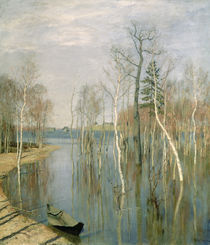 Spring by Isaak Ilyich Levitan