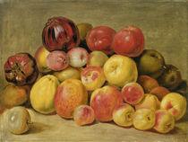 Pieces of Fruit  von Johann Heinrich Wilhelm Tischbein