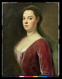 Portrait of Frau Denner  von Balthasar Denner