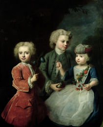 The Children of Councillor Barthold Heinrich Brockes  von Balthasar Denner