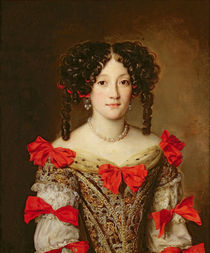 Portrait of a Woman  by Jacob Ferdinand Voet