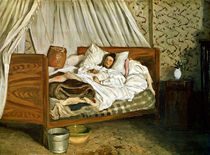 The Improvised Ambulance by Jean Frederic Bazille