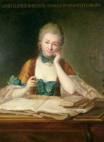 Madame de Chatelet-Lomont  von Maurice Quentin de la Tour