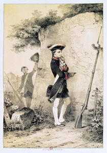 Napoleon I  by Nicolas Toussaint Charlet