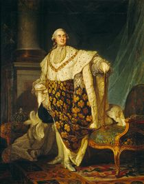 Louis XVI  von Joseph Siffred Duplessis