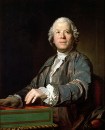 Christoph Willibald Gluck  by Joseph Siffred Duplessis