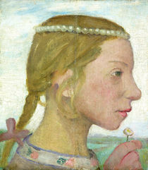 A Young Girl  by Paula Modersohn-Becker