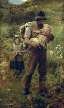 A Heavy Burden  by Arthur Hacker