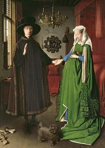 The Portrait of Giovanni  by Jan van Eyck