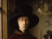 The Portrait of Giovanni  von Jan van Eyck