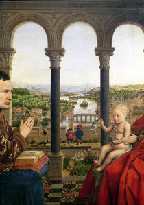 The Rolin Madonna  by Jan van Eyck