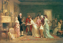 Washington's Birthday by Jean Leon Jerome Ferris