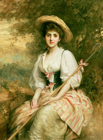 Mrs. Stuart M. Samuel as Phyllida by Sir Samuel Luke Fildes