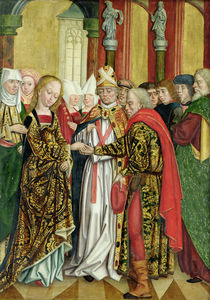 Marriage of the Virgin von Absolon Stumme