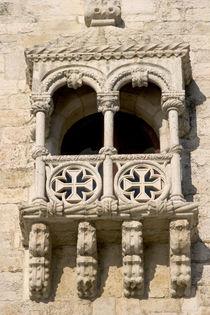 A balcony on the Tower of Belem von Francisco de Arruda