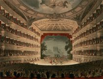 New Covent Garden Theatre by T. Rowlandson
