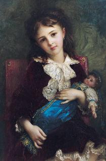 Portrait of Catherine du Bouchage by Antoine Auguste Ernest Herbert or Hebert