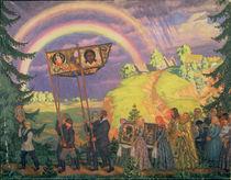 Easter Procession von Boris Mikhailovich Kustodiev