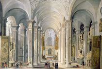 Interior of a Church  von Francois de Nome